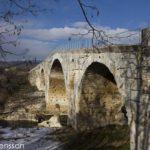 Pont Julien romersk bro i Lubéron