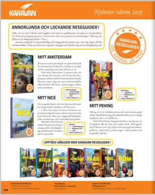 Svensk bokhandel varen 2015 Karavan