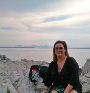 Kristina Svensson i Antibes